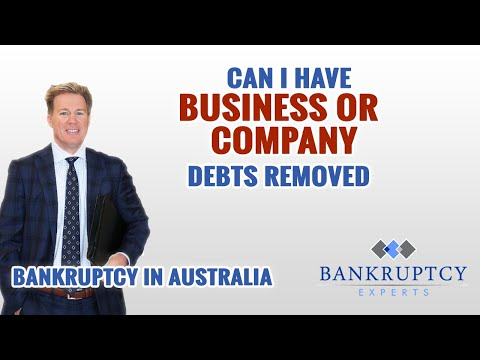 If I have Australian Business Debts can they be removed with Bankruptcy?