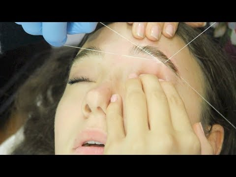 I Got My Eyebrows Threaded (First Time) FionaFrills Vlogs