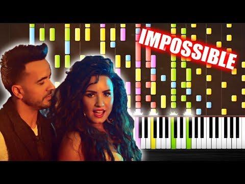 Luis Fonsi, Demi Lovato - Échame La Culpa - IMPOSSIBLE PIANO by PlutaX