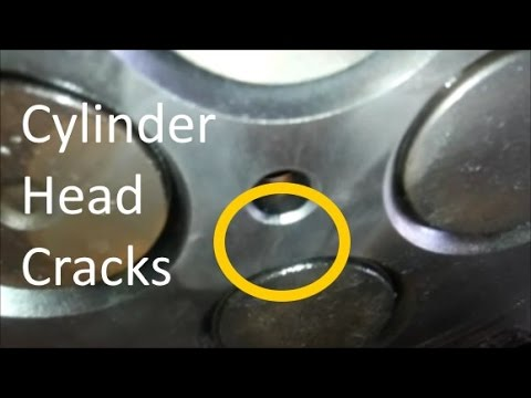 Test For A Cracked Cylinder Head or Head Gasket. Perform The Bottle Test or Bubble Test.