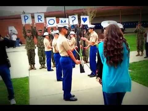 Awesome prom asking at PHS