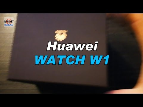 Huawei Watch W1 [UNBOXING] [UPDATE]