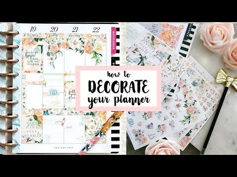 How I Decorate My Weekly Spread - BELLA KIT *RESTOCKED!*