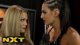 Sonya Deville bids a hostile farewell to Christy St. Cloud: NXT Exclusive, Dec. 6, 2017