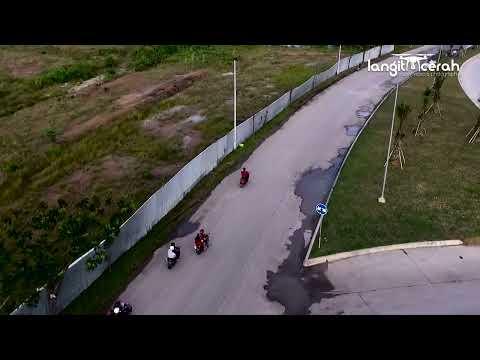 DRONE : Jembatan Mahulu Samarinda.