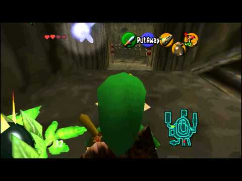 Ocarina of Time (HD) Heart Piece - Giant Jug in Goron City