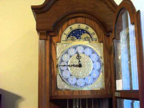 Ridgeway Moon Phase Westminster Chime Grandfather Clock