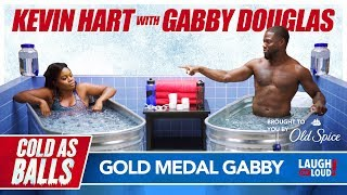 Download Kevin Hart and Gabby Douglas Flip Out! | Cold As Balls | Laugh Out Loud Network Video