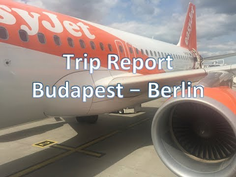 Trip Report Budapest (BUD) to Berlin (SXF) on Board Easyjet