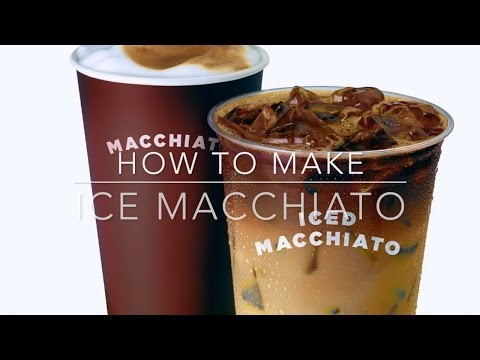 How to make Ice macchiato at Dunkin Donuts and more?!training tutorial by professional
