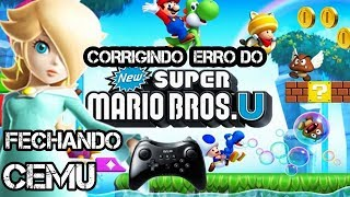 New Super Mario Bros Wii U Cemu Crash
