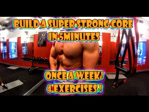 HOW TO BUILD A SUPER STRONG CORE IN 5 MINUTES!