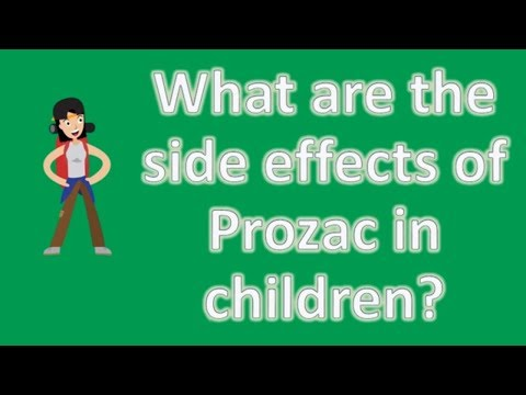 What are the side effects of Prozac in children ? |Mostly Asked Health Questions & Answers