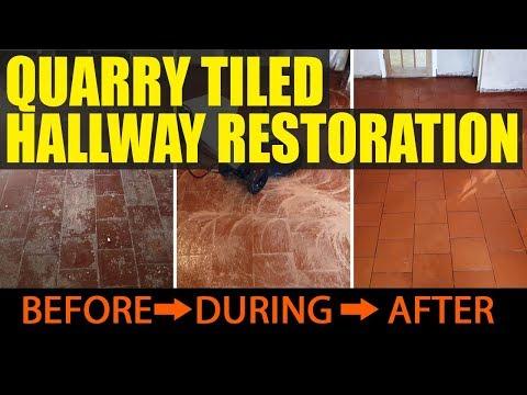 Quarry Tile Restoration Rednal Birmingham