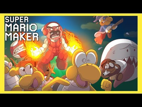 THIS WAS JUST EPIC!! I CAN'T BELIEVE IT!! [SUPER MARIO MAKER] [#139]
