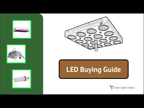LED Grow Light Buying Guide - Choosing The Best LED Plant Light For You