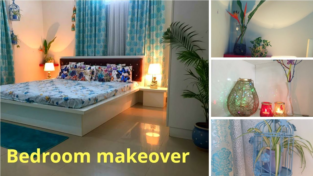 Bedroom makeover || Decoration ideas for small room ||Small budget bedroom makeover