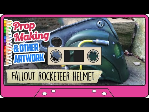 FALLOUT ROCKETEER HELMET PROP - From the Archives