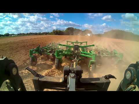 Great Plains Equipment Demo: Ultra-Chisel Working Tobacco Beds in North Carolina