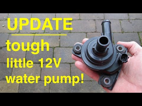 UPDATE ● Tough Little 12volt Water Pump from a Toyota Prius