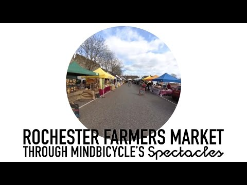 Rochester Farmers Market through Snapchat Spectacles