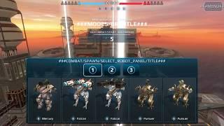mercury war robots