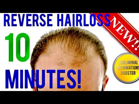 🎧 REVERSE HAIR LOSS IN 10 MINUTES!! SUBLIMINAL AFFIRMATIONS BOOSTER! REAL RESULTS DAILY!