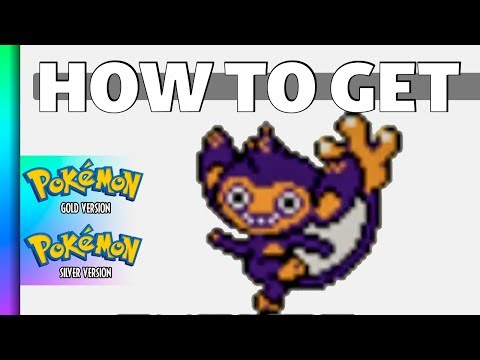 HOW TO GET Aipom in Pokemon Gold and Silver