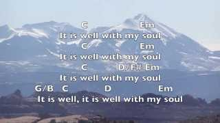 It Is Well [Key: G]- Lyrics & Chords