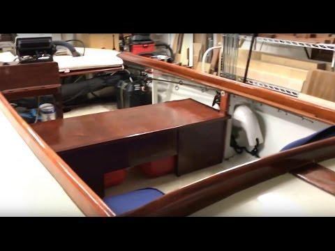 WagoOne Forward Boat Bench
