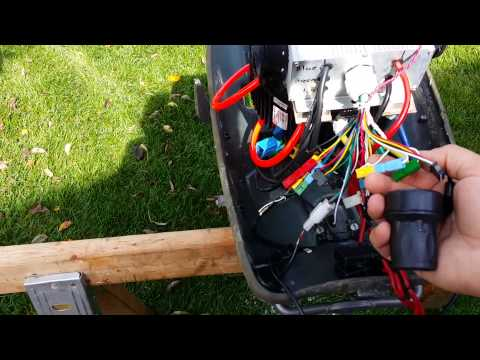 My 5kw 48v electric outboard motor