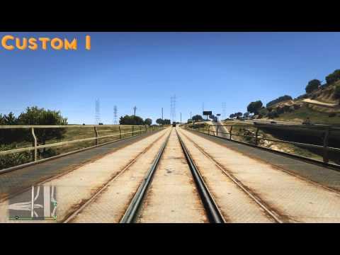 GTAV - improved freight train horns