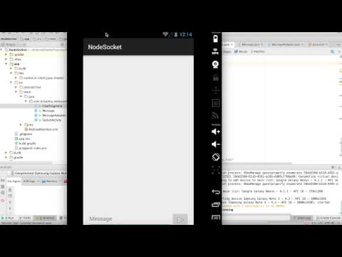 Chat App with Native Android and Socket.IO part 02