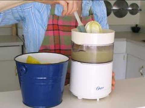 How To Make Fresh Organic Lemon Juice