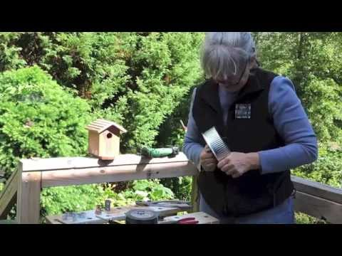How to Make a Stovepipe Nest Box Baffle