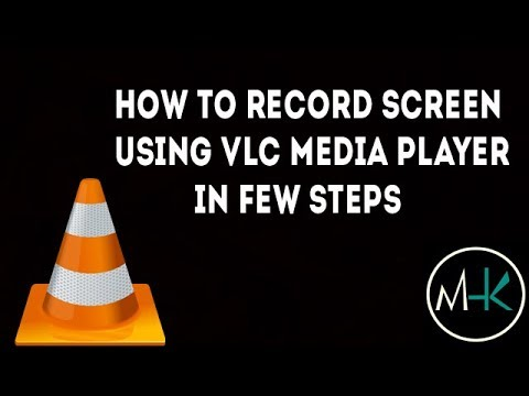 how to record screen with vlc