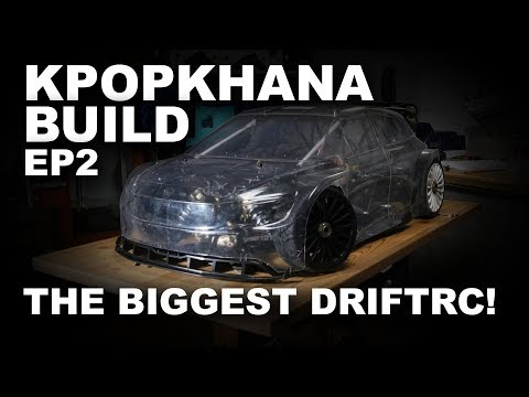 KPOPKHANA BUILD EP2 | LARGESCALE RC DRIFT BUILD