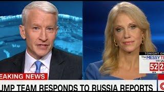 """Kellyanne Conway Implodes on """"Fake News"""" CNN"""