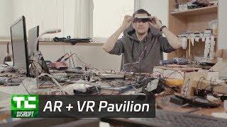 AR + VR Pavilion at Disrupt SF 2017