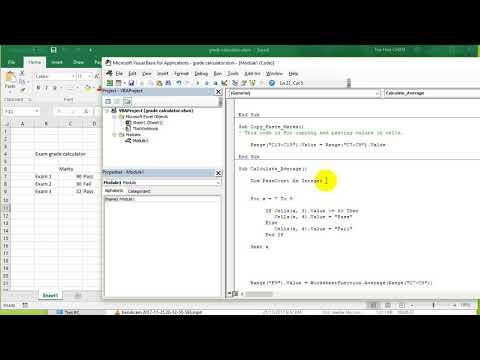 VBA Excel 2016 Lesson 10 - Variables, join concatenate Strings