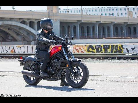 2017 Honda Rebel 500 Review   4K