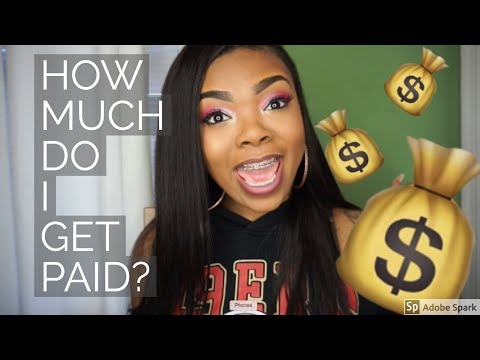 My FIRST Youtube Check ! How much? How did I get paid? & MORE!