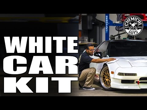 Make White Paint Glow And Shine - White Car Kit - Chemical Guys