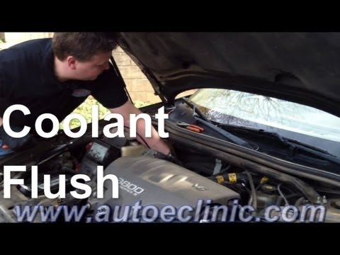How To Do A Coolant Flush : Car With  No Heat or Running Hot (example Chevrolet Impala)