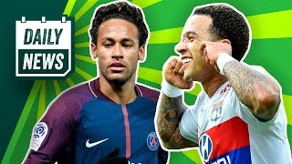 Neymar BACK to Barca? Depay could return to United + Rooney's on FIRE ► Daily Football News