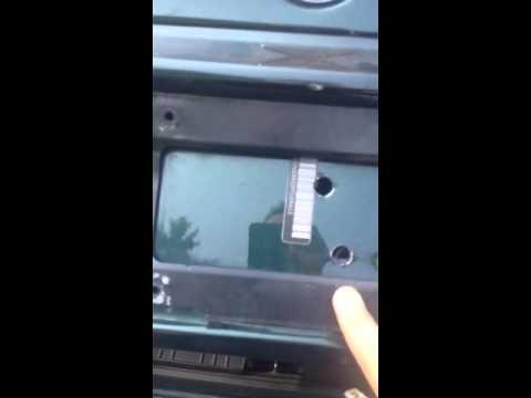 2002 BMW 325ci key locked in trunk or car