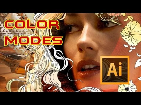 Adobe Illustrator CS6 Tutorial For Beginners | Color Modes