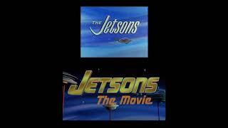 """""""Jetsons: The Movie"""" (1990) vs. """"The Jetsons"""" (1962) INTRO COMPARISON"""