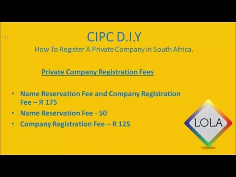 How To Register A Company In South Africa 2016 | STEP 2: Depositing Funds Into CIPC Acc