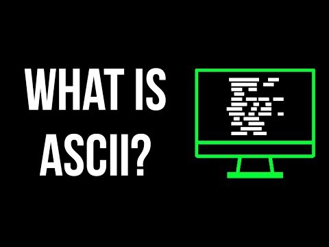 What is ASCII?